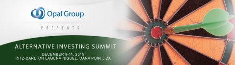 Tim L. Edgar a Featured Speaker at Alternative Investing Summit