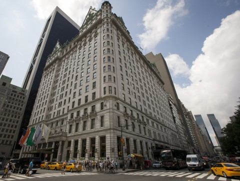Famed Plaza Hotel NYC for Sale